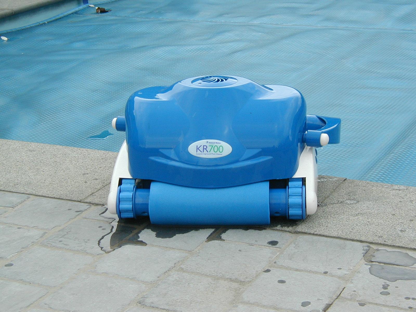 Zwembad bodemreiniger